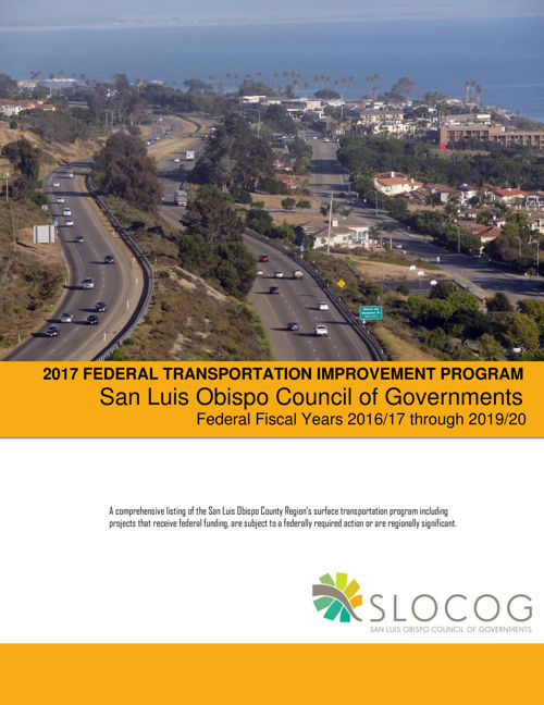 2017 Federal Transportation Improvement Program - SLOCOG