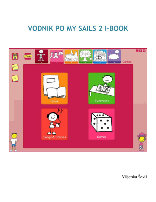 Vodnik po My Sails 2 i-book