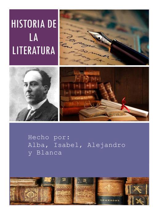 Esquemas historia de la literatura