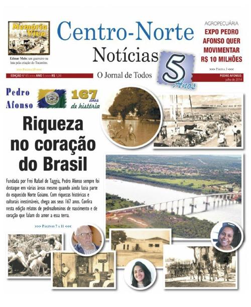 Jornal Centro-Norte Notícias n° 65