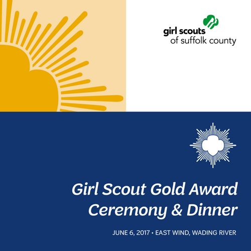 Girl Scouts of Suffolk County's Gold Award Yearbook