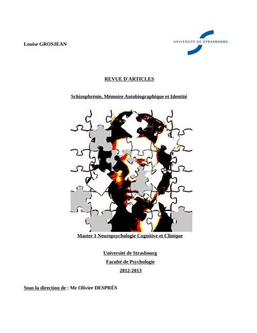 Louise Grosjean Mémoire M1