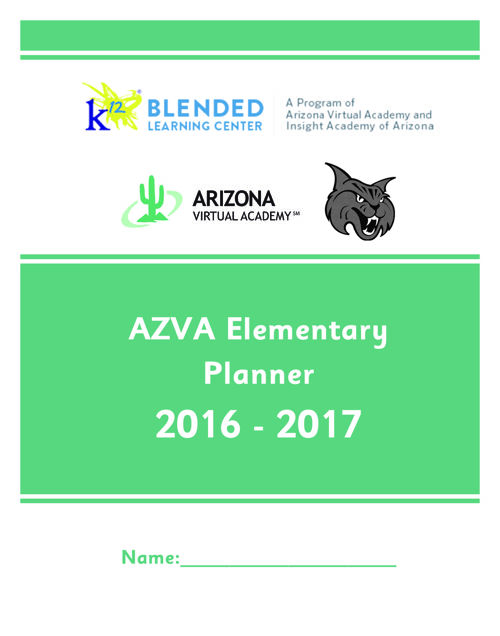Elementary School Planners_The School Planner Company