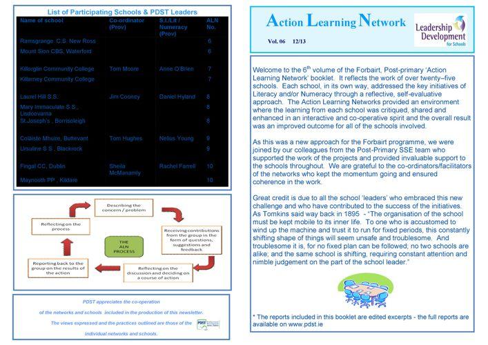 ALN booklet 2013 -Post-Primary