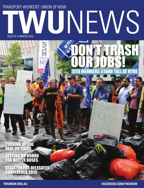 TWU News Winter 2015