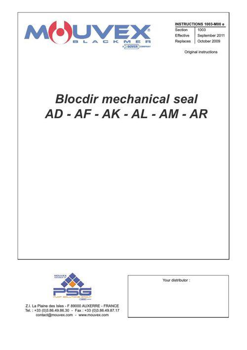 Blocdir Mechanical Seal