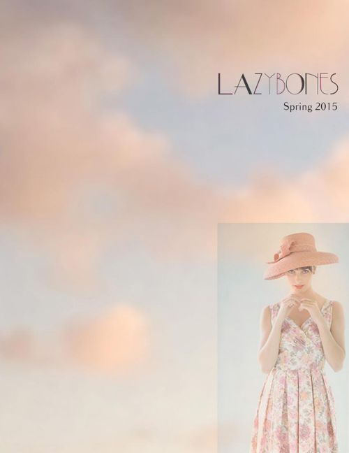 Lazybones Spring Catalogue 2015