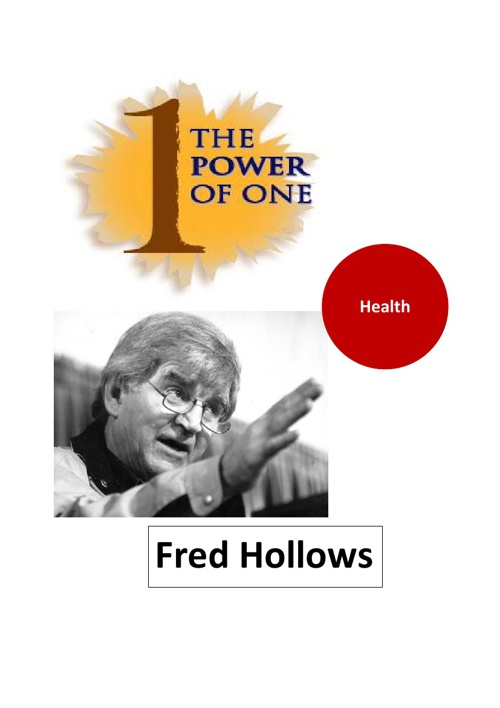 Fred Hollows, the power of one