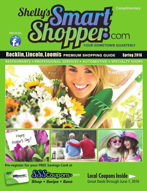 Shelly's Smart Shopper Rocklin Spring 2016