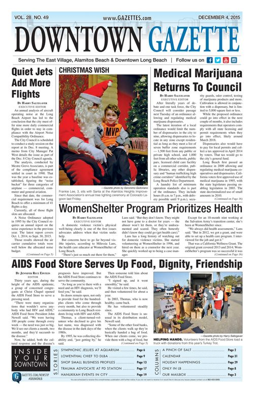 Downtown Gazette  |  December 4, 2015
