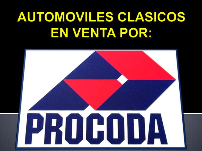 AUTOS CLASICOS EN VENTA