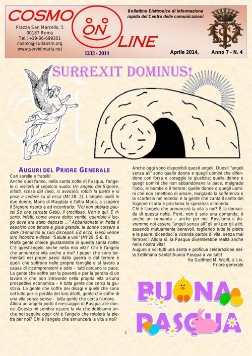 Cosmo online aprile