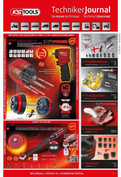 KS Tools 01-09-2014 - 28.02.2015