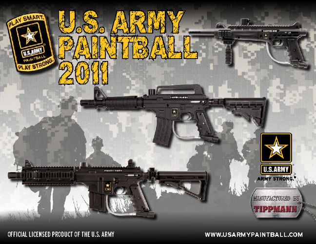 US Army Paintball Catalog 2011