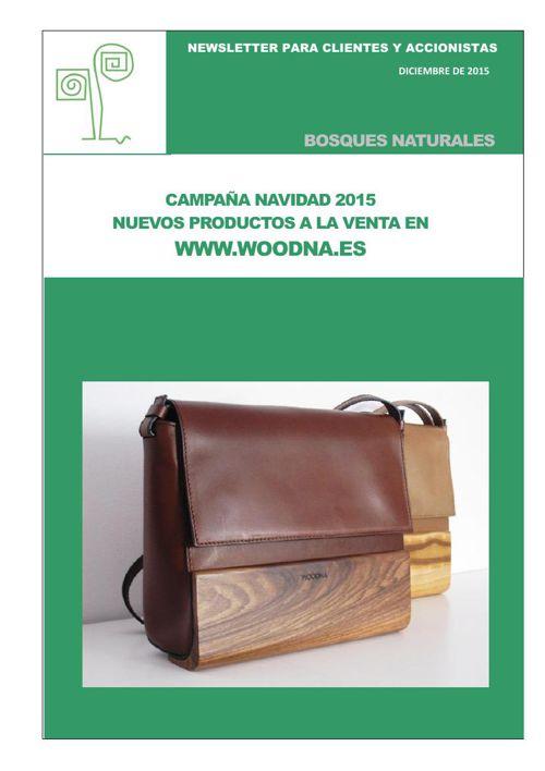 Bosques Naturales. Newsletter diciembre 2015
