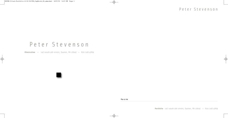 Peter Stevenson:  illustration
