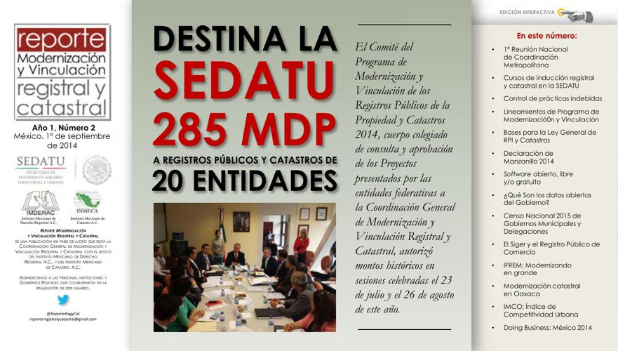 Revista Reporte Registral y Catastral #2