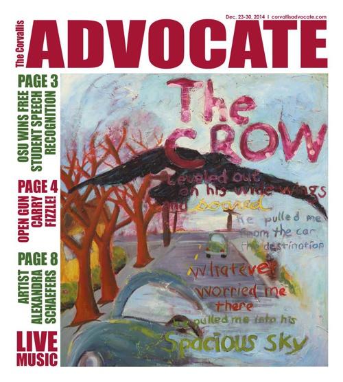 Corvallis Advocate --- December 23, 2014