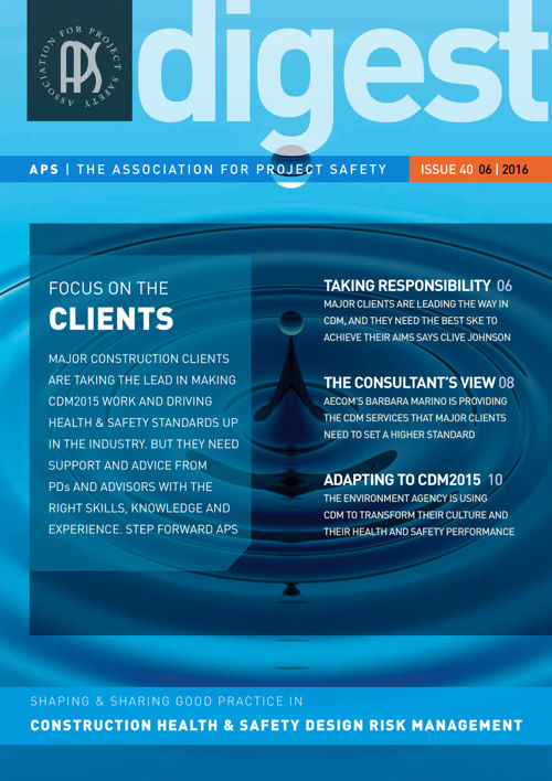 APS DIGEST  |  Issue  40  |  June 2016