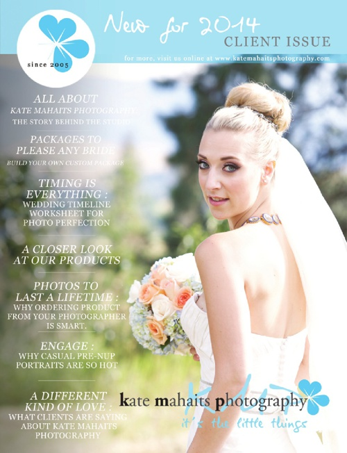 Kate Mahaits Photography Wedding Client Issue 2014