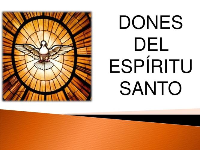 Dones del Espíritu Santo