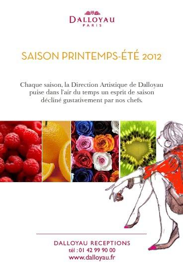 Esprit de Saison Printemps-Eté 2012