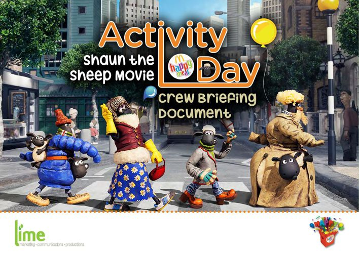 MCD Lime Briefing Document Shaun the Sheep 1-15