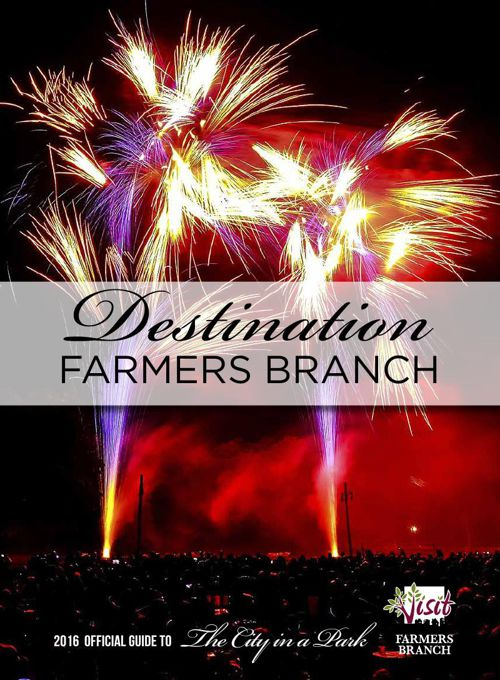 2016 Farmers Branch Visitor's Guide