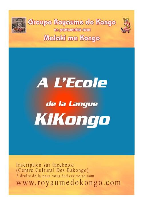 New FlipA L'Ecole de la Langue KIKONGO