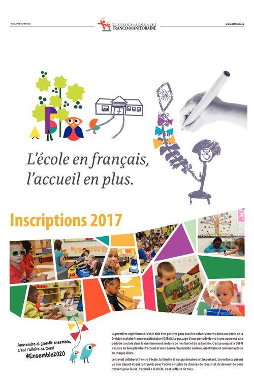 DSFM - L'école en français, l'accueil en plus.