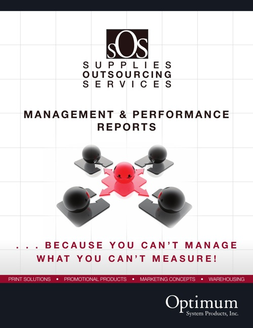 OSP Management & Performance Reports Booklet