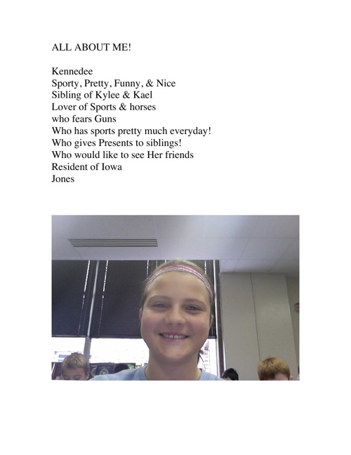 Kennedee's Poems