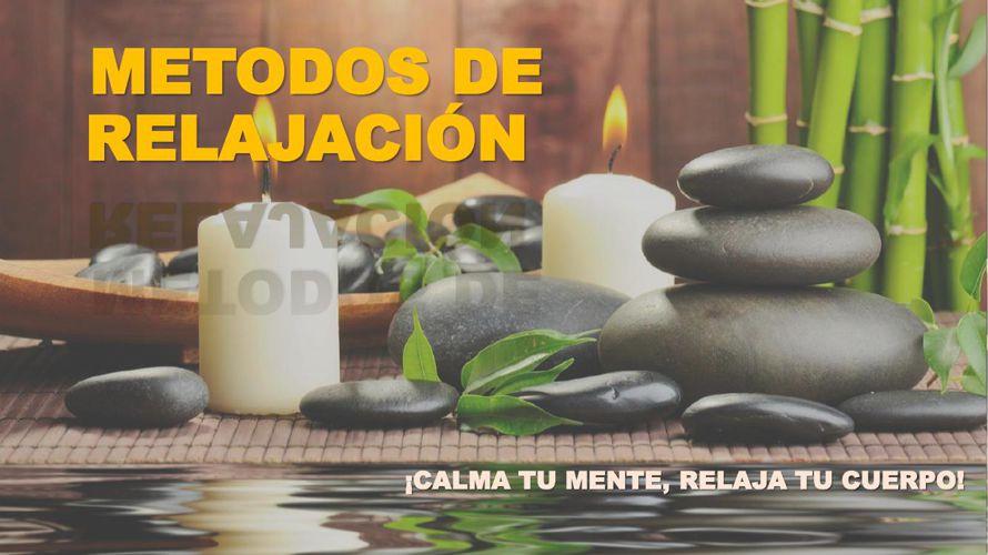 METODOS DE RELAJACIÓNrevistadigital