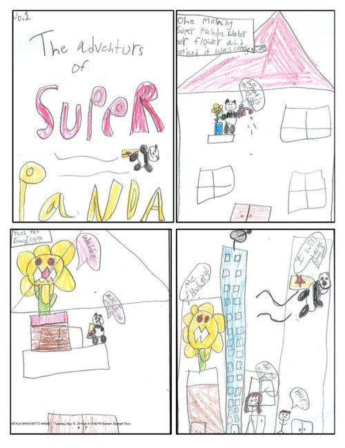 the adventures of SUPER PANDA