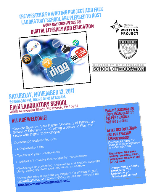Digital Literacy Education Conference:  November 12, 2011