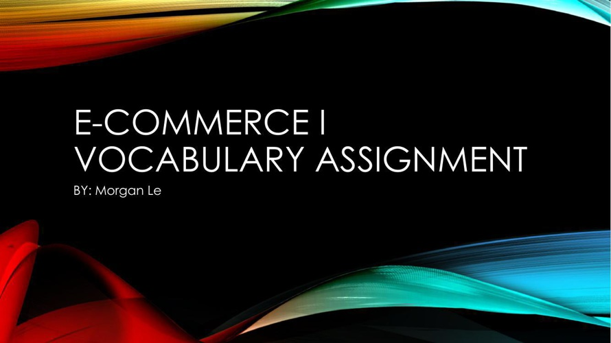 E-Commerce Powerpoint