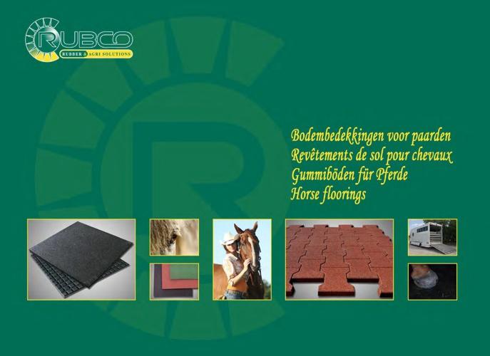 RUBCO - rubber floorings for horses