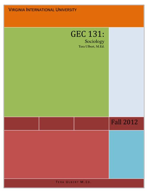 GEC 131 - Fall 2012 - VIU - Tera Ulbert