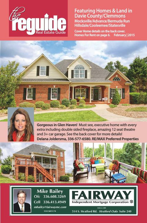 February Davie County Real Estate Guides