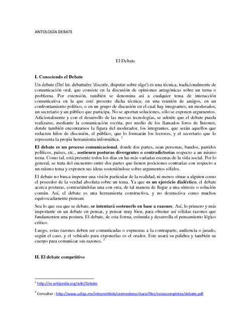 Antología TND