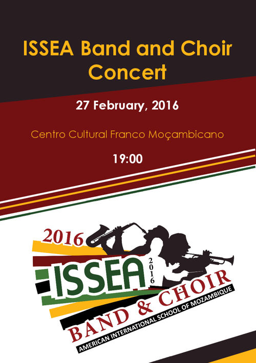 ISSEA Band and Choir Concert Program