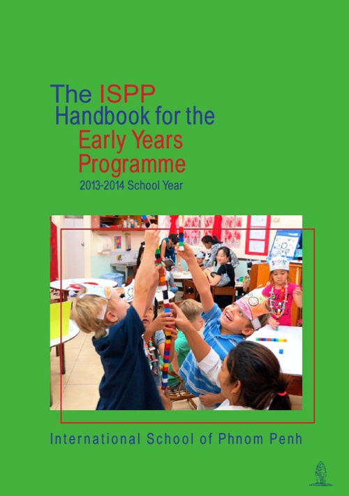 The ISPP Guide for the Early Years Programme 2013-2014