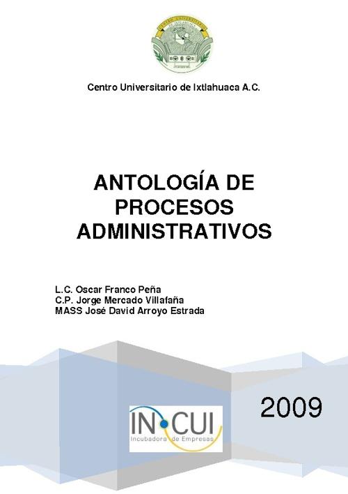 Antologia Administrativa