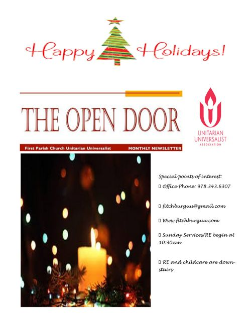 Open Door 12-16