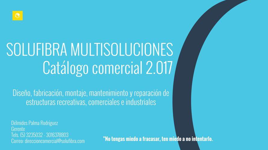 PORTAFOLIO 2017 - SOLUFIBRA MULTISOLUCIONES