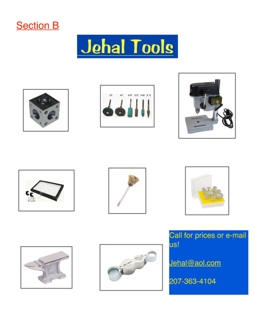 Jewelry Supply Catalog B