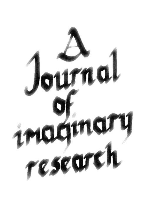 Journal of Imaginary Research Vol 1