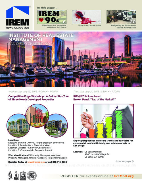 IREMSD July/Aug 2016 Newsletter