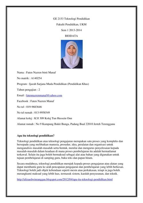 Grup Tutorial Teknologi Pendidikan GE2153