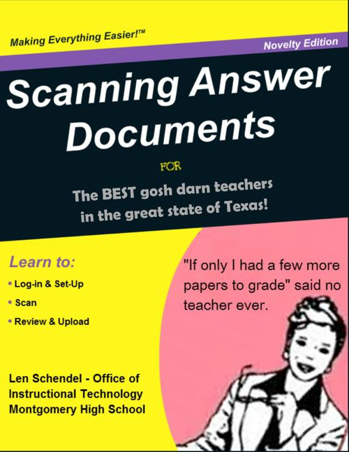 Part III - Scanning Answer Documents (Illustrated)+RE
